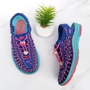 Keen 1014720 Uneek Water Sneaker Sandals Blue Pink